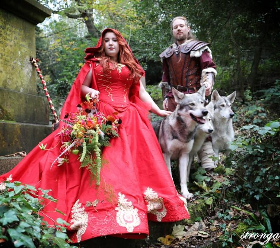 Victoria and Nicholas and the Wolves