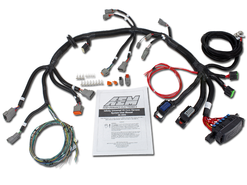 American Flyer 302 Wiring Diagram Universal Core Amp Accessory Wiring Harnesses Aem