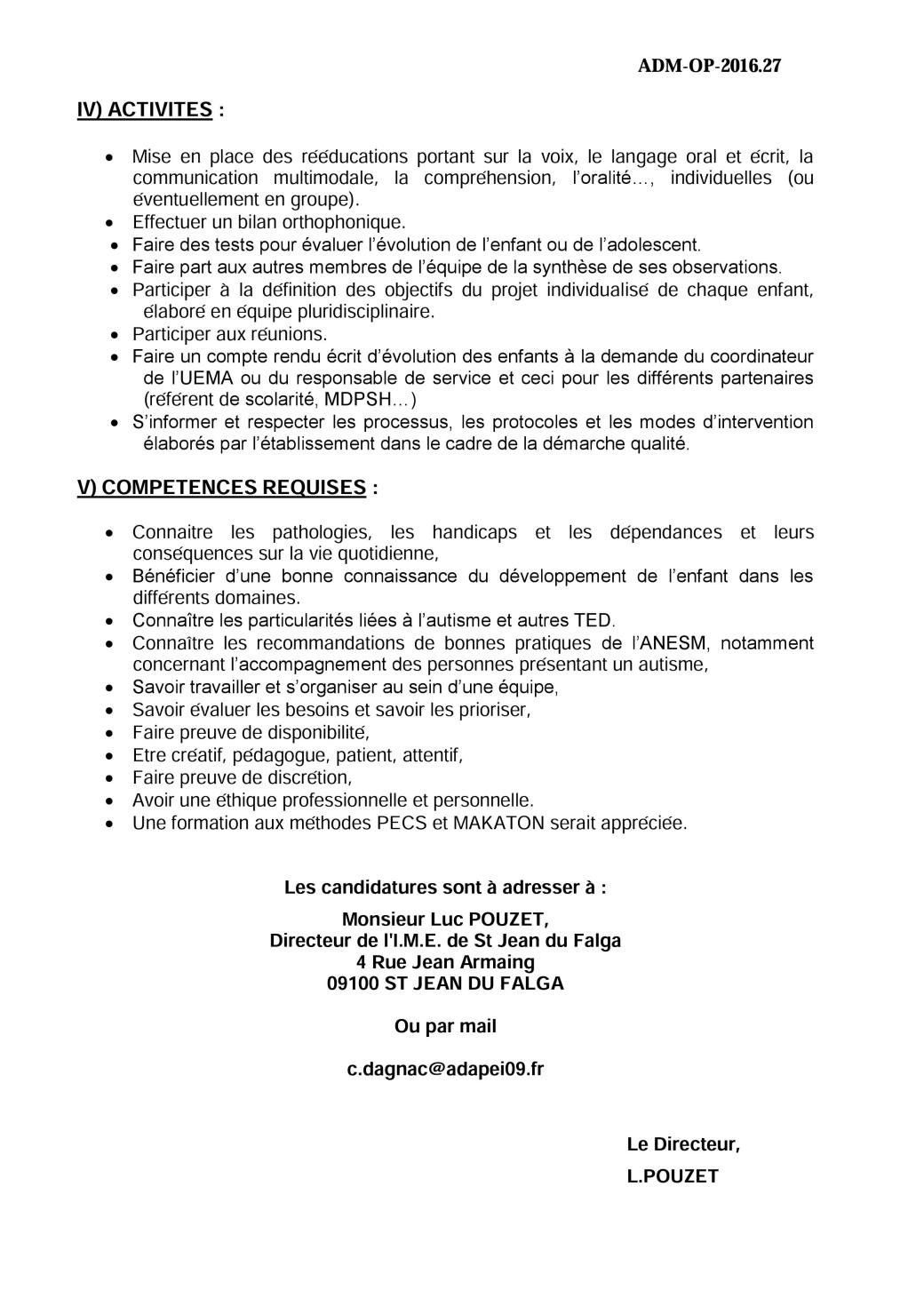 cv lettre de motivation cmpp