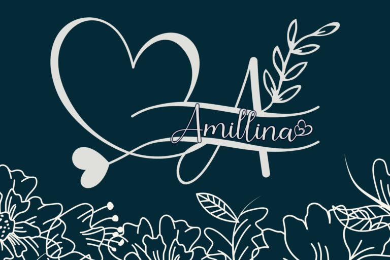 Amillina Monogram Cover