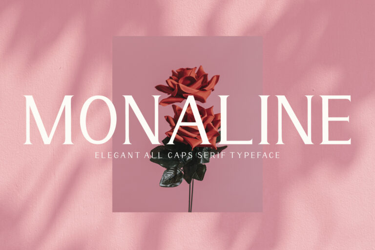 Monaline Serif Font