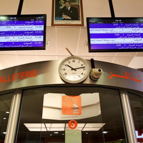 @Airport: Buy tickets here to Casablanca and Fes