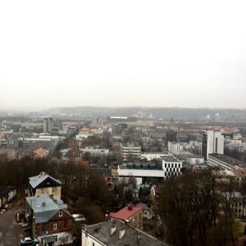 Scenic view of Kaunas