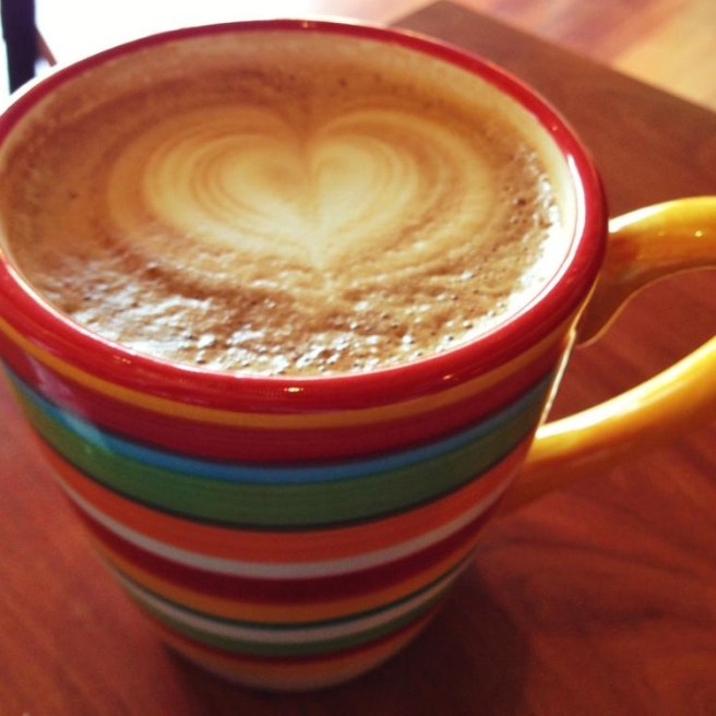 Lots of love from a cuppa coffee <3