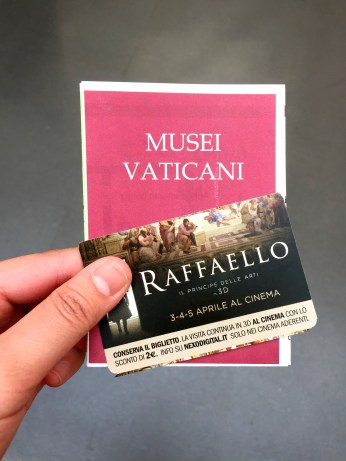 Tickets to the Vatican Museum