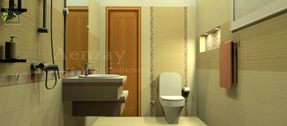 Washroom Design by AENZAY