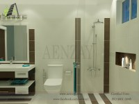 washroom designs | Aenzay Interiors & Architecture