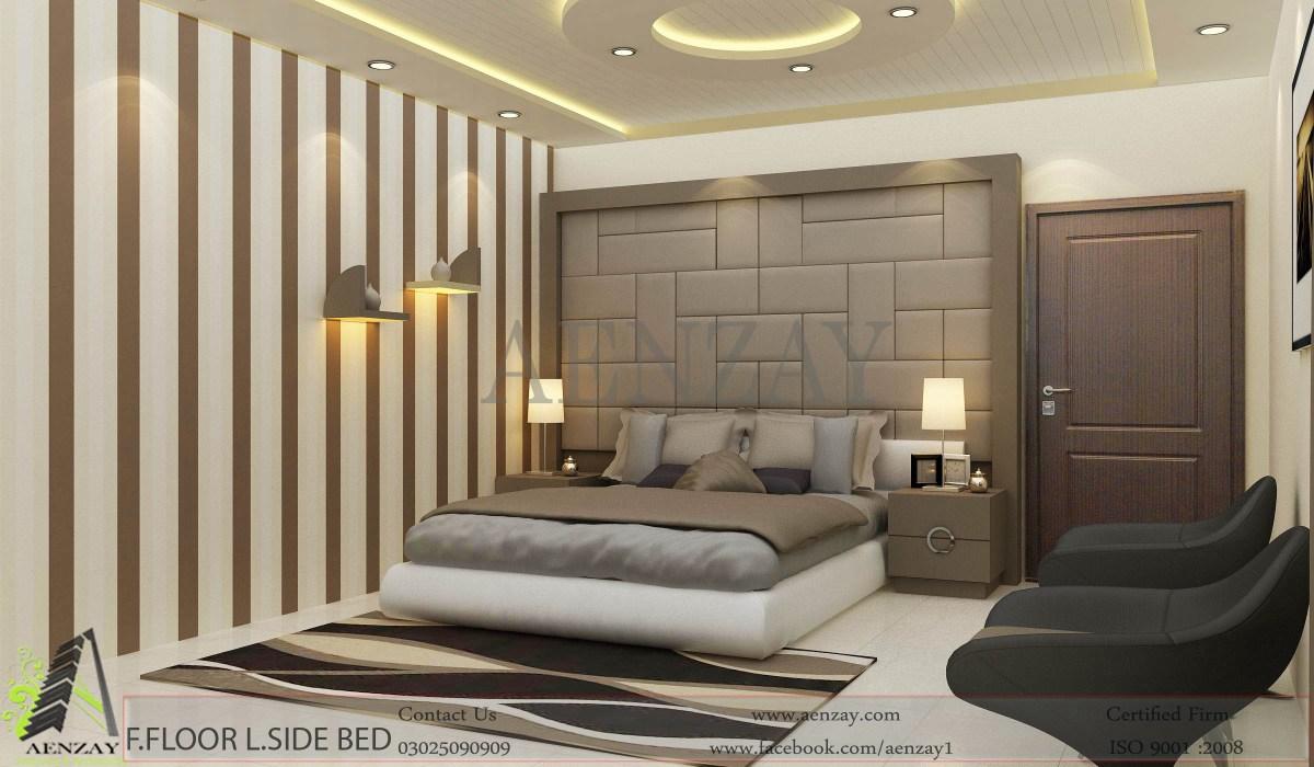 Bahawalpur Project  First Floor Bedroom Designed by Aenzay  Aenzay Interiors  Architecture