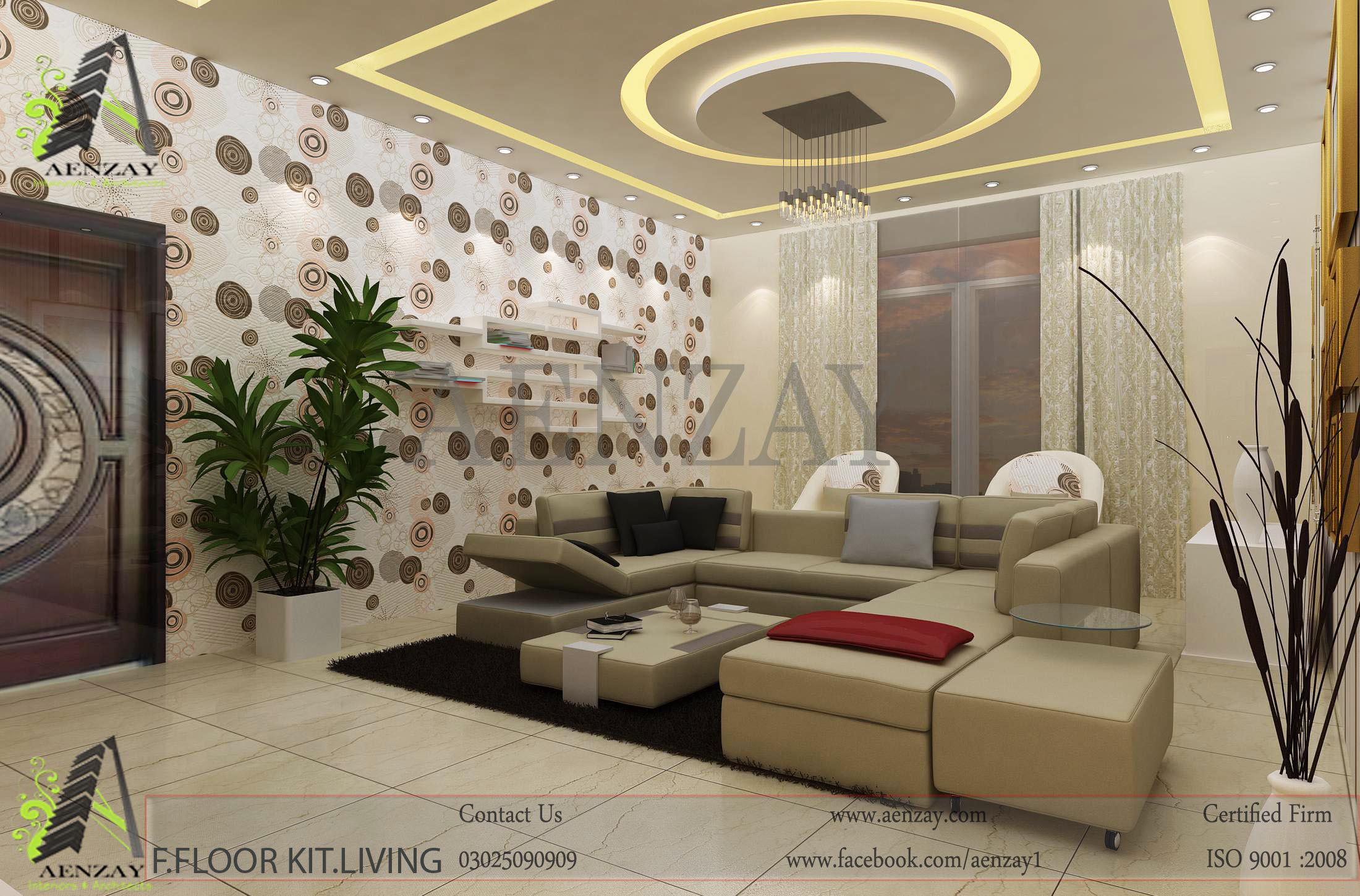 Bahawalpur Project  Living Area Designed by Aenzay  Aenzay Interiors  Architecture