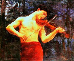Orpheus, by Karoly Ferenczy, 1894.