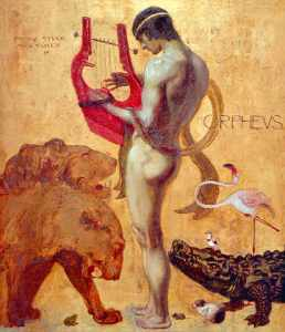 Orpheus by Franz Von Stuck (1891)