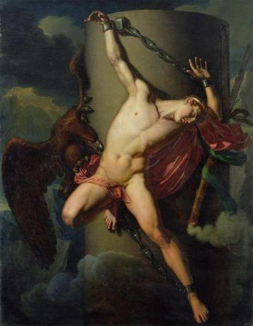 The Torture of Prometheus - Jean Louis César Lair