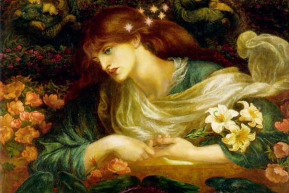 The Blessed Damozel, Dante Gabriel Rossetti, 1871-1878