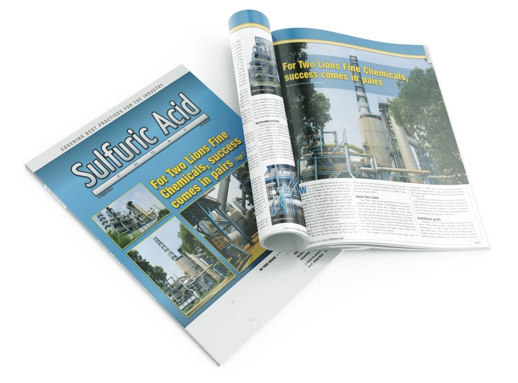 Sulfuric Acid Today trade magazine