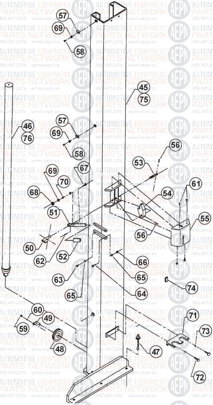 BENWIL GPOA-10 Parts Breakdown