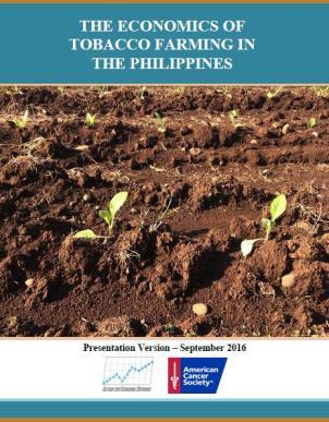 The Economics of Tobacco Farming in the Philippines