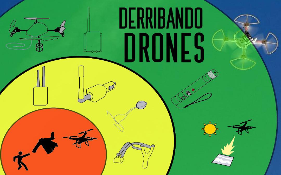 ¿Y si en lugar de construir drones debemos derribarlos?