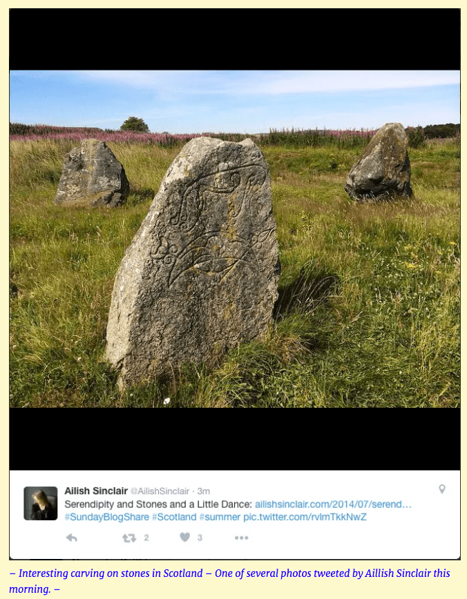 """""""Carved Stones In Scotland -"""""""