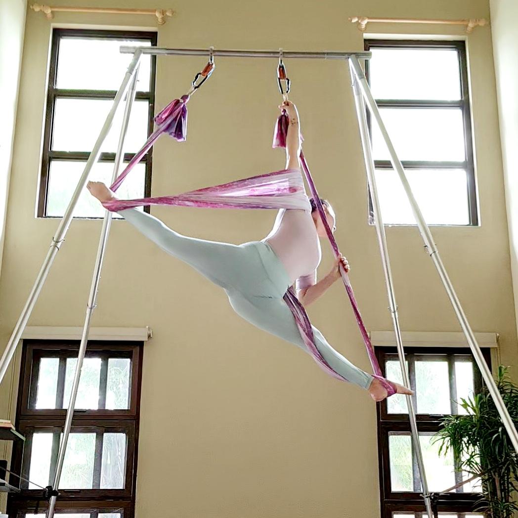 Flying Yoga Splits