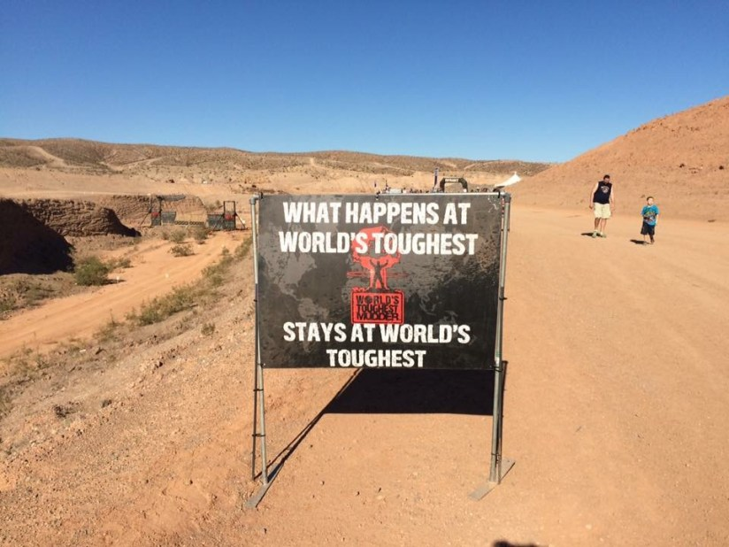 What happens at World's Toughest Mudder stays at World's Toughest Mudder!