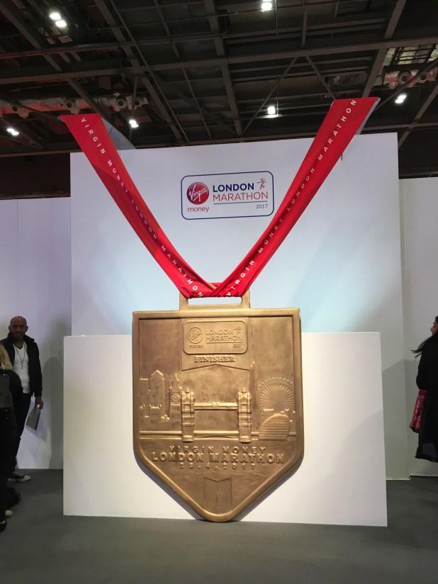 The London Marathon Medal 2017