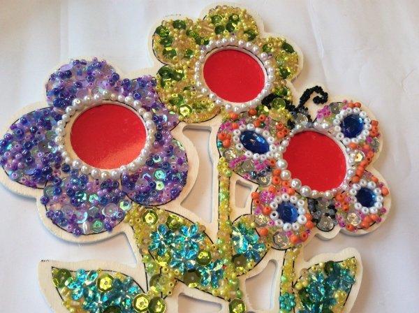 Flowers Photo Beads