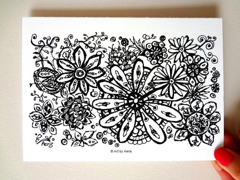 Mandala Pattern Drawing