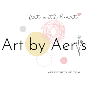 Art By Aeris Art With Heart Logo