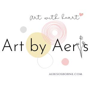 Art By Aeris Art With Heart Logo