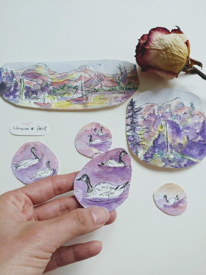 Geese-Nanaimo-Painting