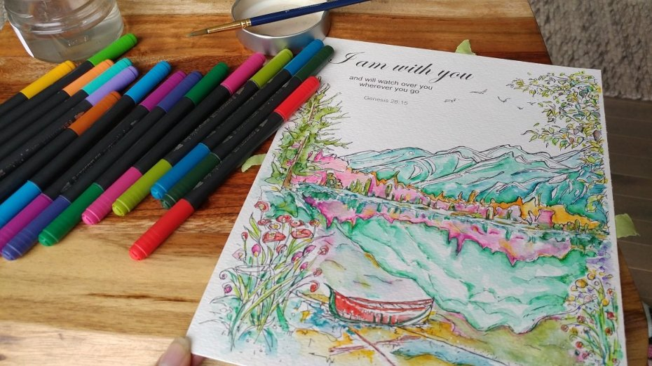 Coloring Pager Adult and Children