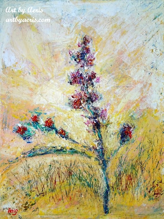 Flowers Field Painting