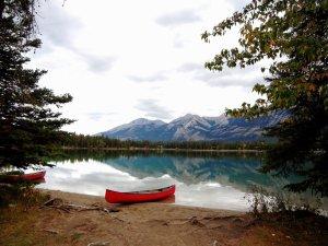Serenity Jasper Maligne Lake Landscape
