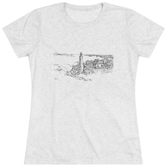 Nova Scotia Lighthouse Women Tee Various Colors And Sizes