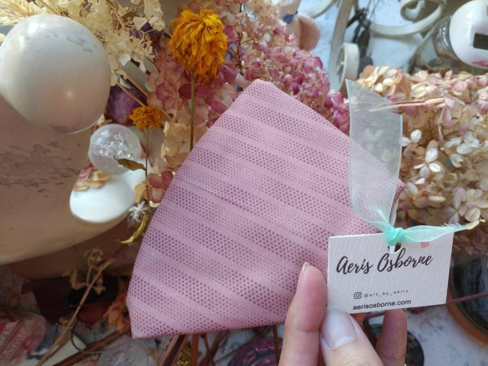 Pink Dotty 3 Layers Japanese Cotton 2Layers Mask