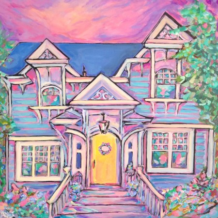 Glenora Arts And Craftsman House Painting 1500 px