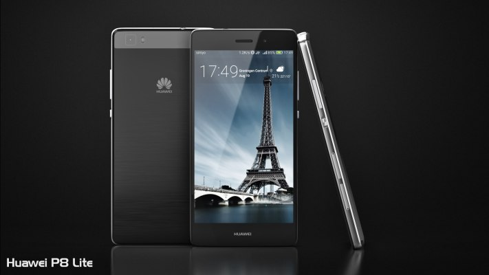 Huawei P8 Lite Single Color Front View