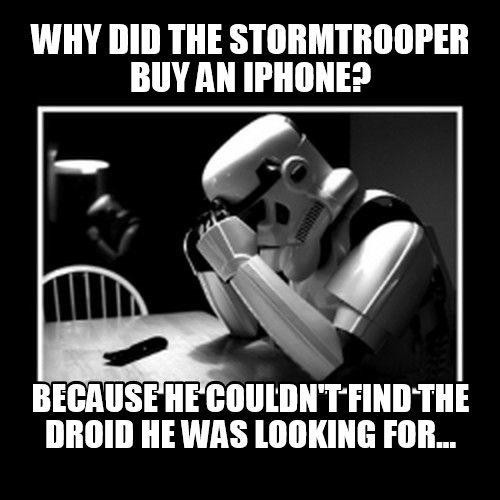 Stormtrooper meme