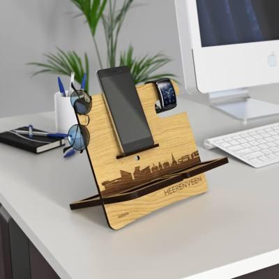Heerenveen Skyline Oak Desk Organizer