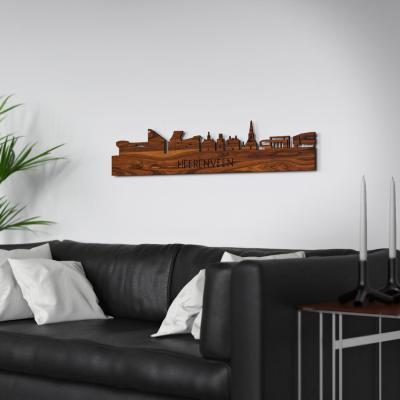 Heerenveen Skyline Rosewood Wall Couch
