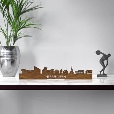 Heerenveen Skyline Walnut Standing Table