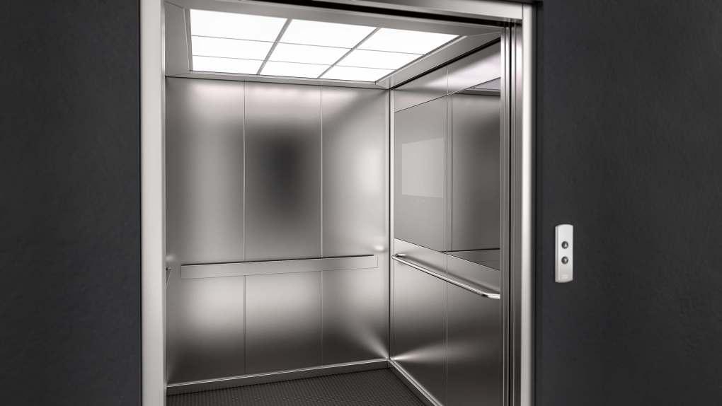 KONE Elevators - Scene 1 - Built in mirror closed