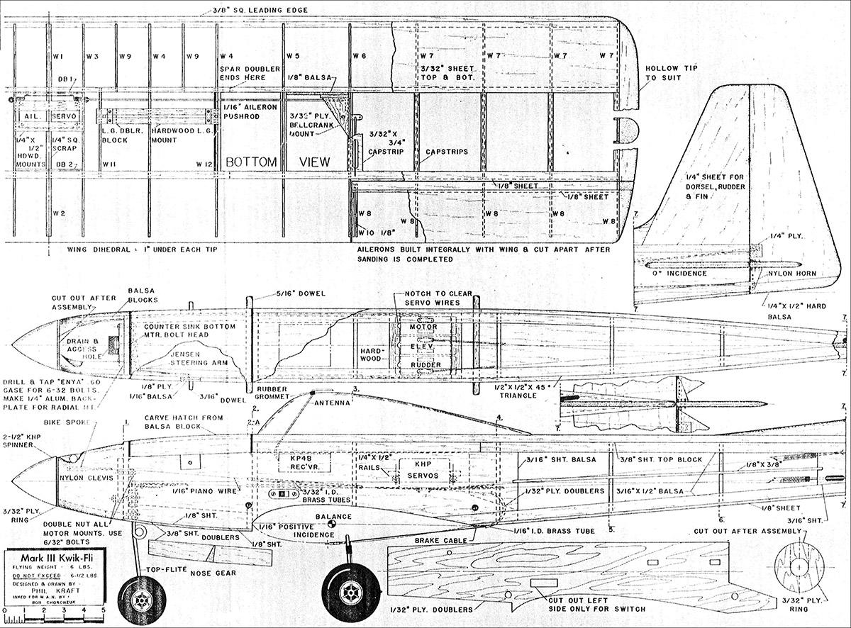 Tout Sur Le Kwik Fly Mk3 De Graupner