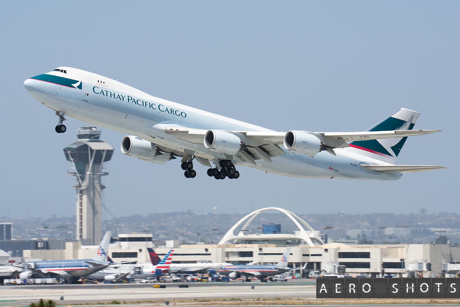 Cathay Pacific 747  AeroShots