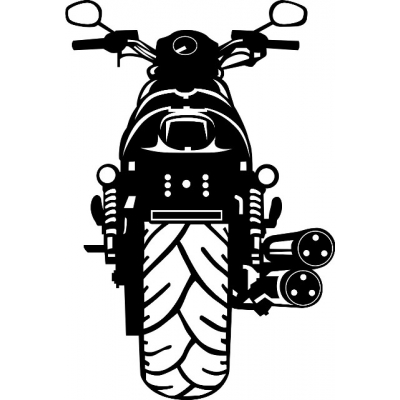 2007 Harley Davidson Motorcyle Vinyl Sticker/Decal 12