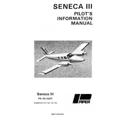 Piper Seneca III PA-34-220T Pilot's Operating Handbook
