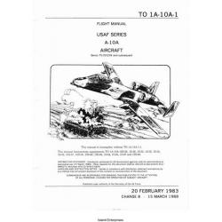 Fairchild A-10A Usaf Series Aircraft Serno 75-00258 and