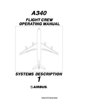 Airbus A340 Flight Crew Operating Manual System