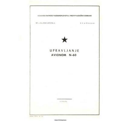 Avionom N-60 Upravljanje 1969 $5.95