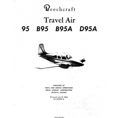 Beechcraft Travel Air 95, B95, B95A, D95A Parts Catalog 95